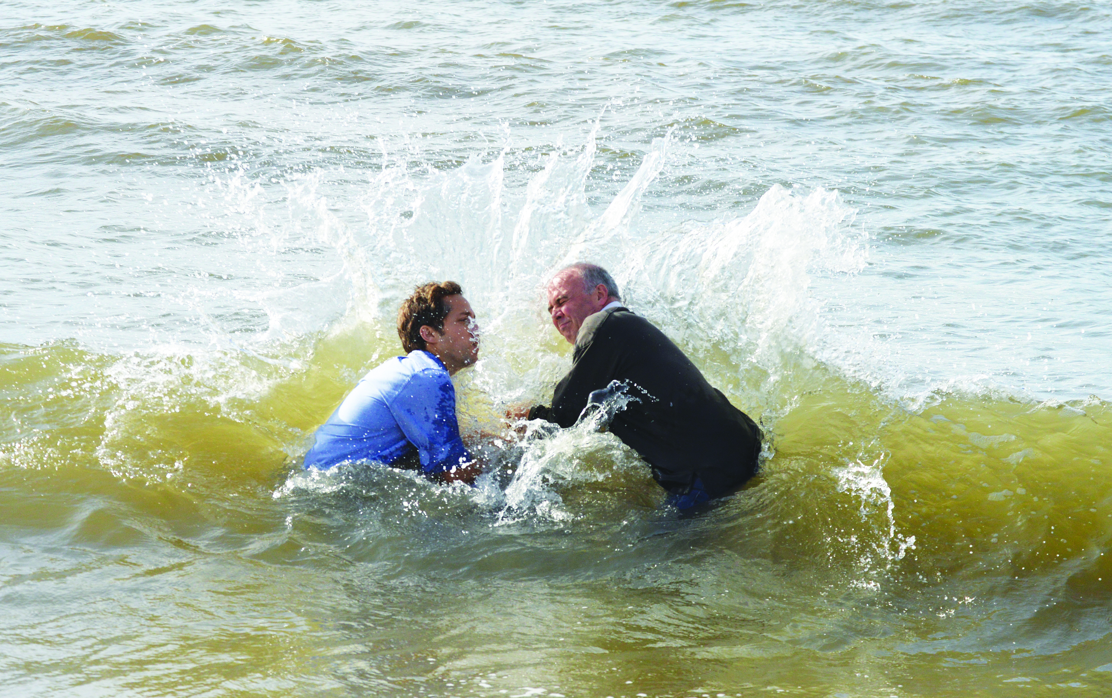 2017 Baptism in the Sea
