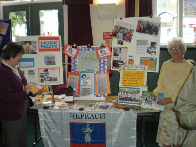 2011 Hope Now Stall