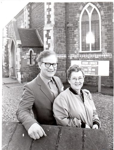 1980 Minister and wife